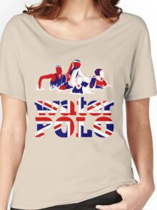 Water Polo Great Britain 2012 Women's Relaxed Fit T-Shirt