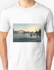 Harbour Sunset Unisex T-Shirt