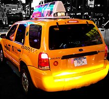 Yellow Cab by Anthony Palmer-Greene