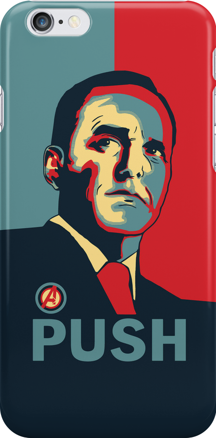 "Dedicated to Phil ""Agent"" Coulson by Jimmy Holway"