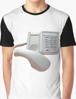 Phone Call On Hold Graphic T-Shirt