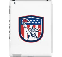 Independence Day Greeting Card-Statue of Liberty Holding Torch iPad Case/Skin