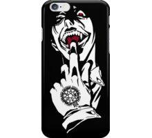 warrior vampire iPhone Case/Skin