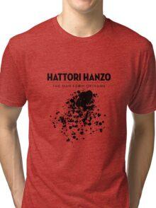 Hattori Hanzo - The man from Okinawa Tri-blend T-Shirt