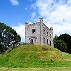 The Hunting Lodge, Abergavenny Castle by Paula J James