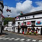 The Bear Hotel, Crickhowell by Paula J James