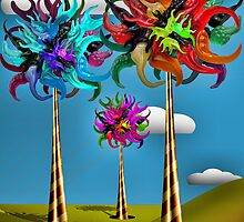 Truffula Trees Made of Gummy by GolemAura