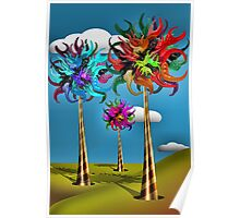 Truffula Trees Made of Gummy Poster