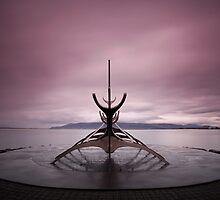 Iceland: Sun Voyager by Nina Papiorek