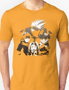 Team 7 Black and White  T-Shirt