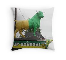 Up Donegal For GAA Finals in September 2012 Throw Pillow