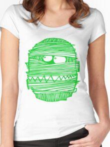 GREEN MUM T-SHIRT , CLASSIC LOGO#02 Women's Fitted Scoop T-Shirt