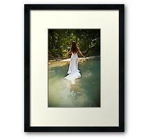 Trash the Dress 3 Framed Print