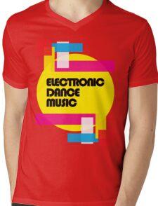 Electronic Dance Music (colorship) Mens V-Neck T-Shirt