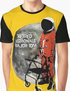 Retired Astronaut Major Tom Graphic T-Shirt