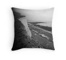 White Cliffs of Dover Throw Pillow