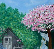"""Under the Cherry Tree"" by Gabriella Nilsson"