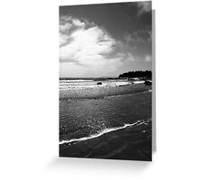 Beach Greeting Card