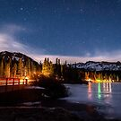 Twin Lakes at Night by Cat Connor