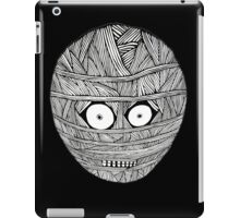 MUM BLACK/WHITE LOGO T-SHIRT iPad Case/Skin