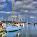 Aabenraa Harbour by Aase