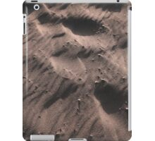 a beach has its own system of forms, materials and processes iPad Case/Skin
