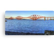The Bridge Uncovered Canvas Print