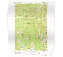 USGS Topo Map Washington State WA Scenic 243592 1965 24000 Poster