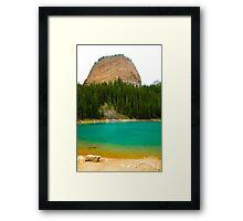 Beehive mountain Framed Print