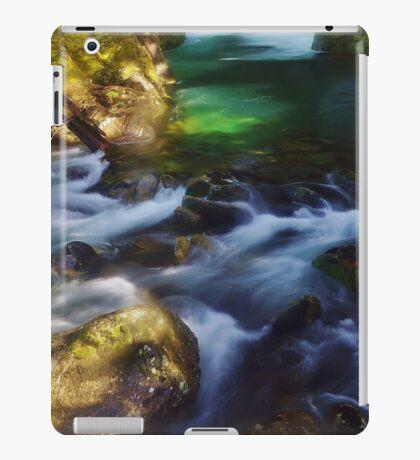 waterfall new zealand iPad Case/Skin