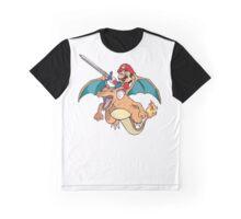 Mario x Charizard Graphic T-Shirt