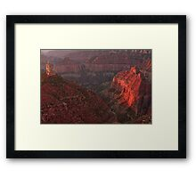 Sunrise at Imperial Point Framed Print