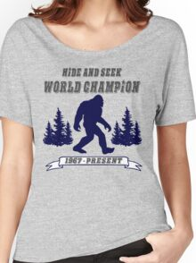 Hide and Seek World Champion Women's Relaxed Fit T-Shirt