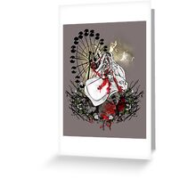 Hysteria in Rust Greeting Card