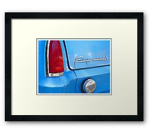 Classic Plymouth Framed Print