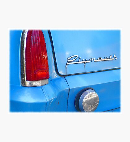 Classic Plymouth Photographic Print