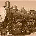 Old Fashioned Train by Jess Meacham