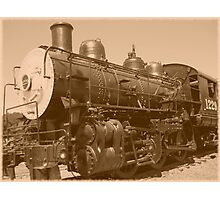 Old Fashioned Train Photographic Print