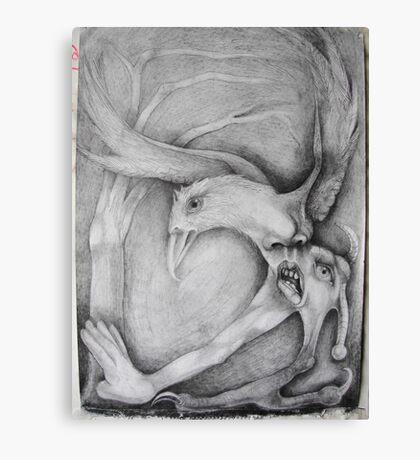Chav Seagul. Canvas Print