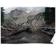 Snowmass Lake in August Poster