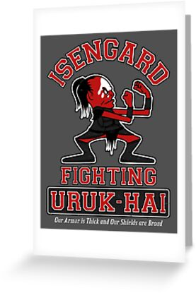 Isengard Fighting Uruk-hai by Adho1982