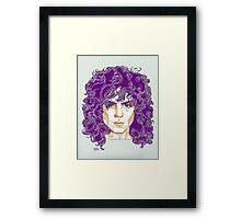 Marc Bolan Framed Print