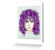 Marc Bolan Greeting Card
