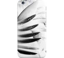 Black and White Flower iPhone Case/Skin
