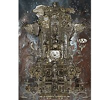Steampunk Space Transport Photographic Print