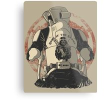 The baddest bikers club of the universe. Metal Print