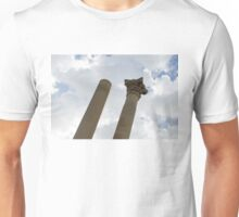 The Old and the New - Columns at the Open Air Theatre, Valletta, Malta Unisex T-Shirt