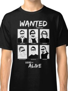 Wanted Grunge Icons Classic T-Shirt