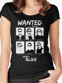 Wanted Grunge Icons Women's Fitted Scoop T-Shirt