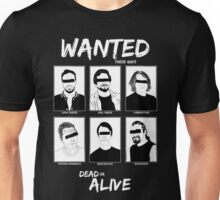 Wanted Grunge Icons Unisex T-Shirt